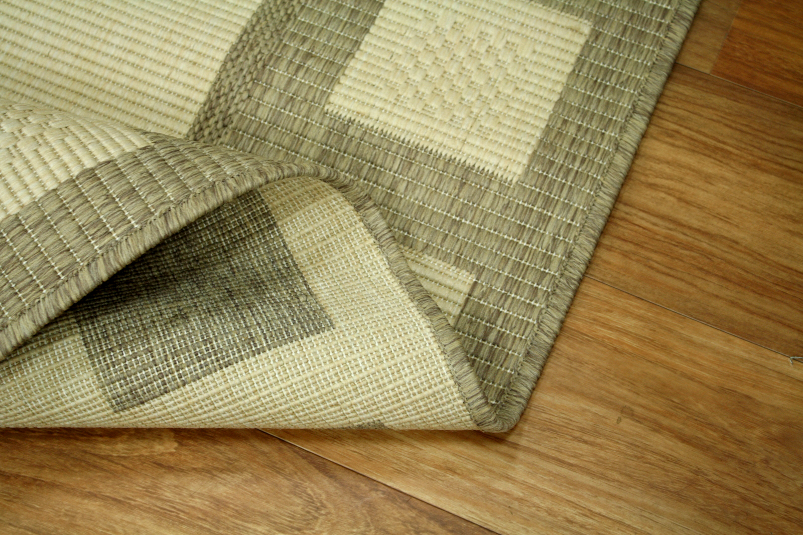 Teppich Agnella Diuna Tyto vanilla flach gewebt s1  eBay