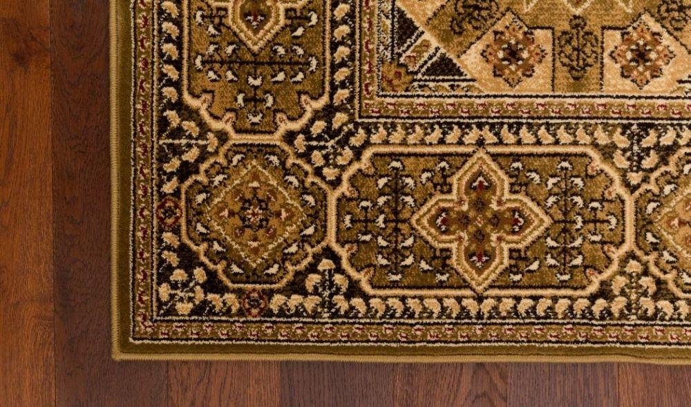 Teppich Agnella STANDARD Alan olivgrün versch Größe s1  eBay