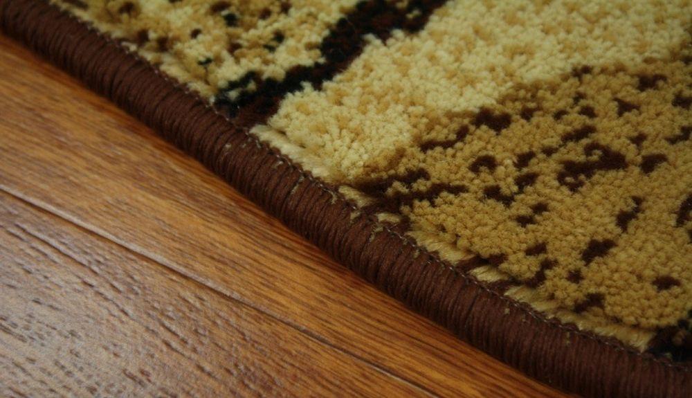 Teppich Agnella STANDARD Ustronie braun versch Größe s1