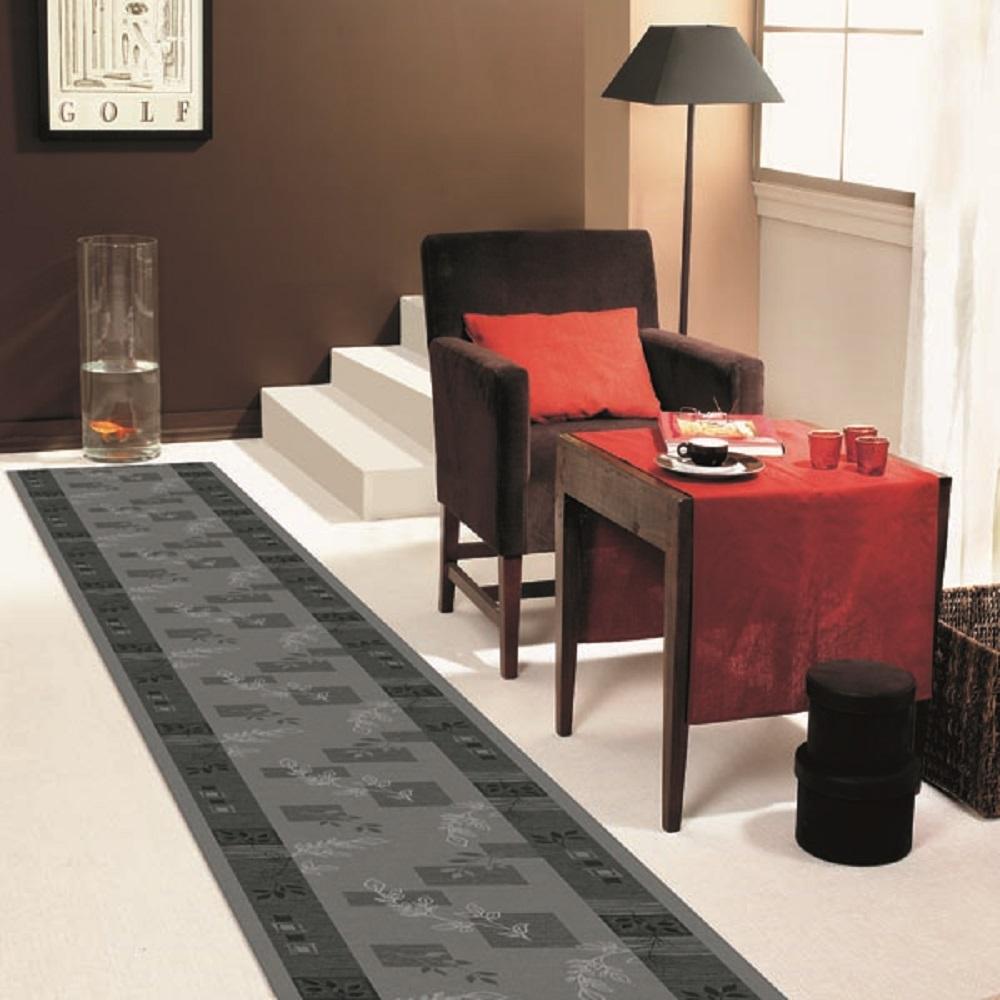 l ufer br cke teppich aw agadir grau 97 breite 67 80 100 s1. Black Bedroom Furniture Sets. Home Design Ideas