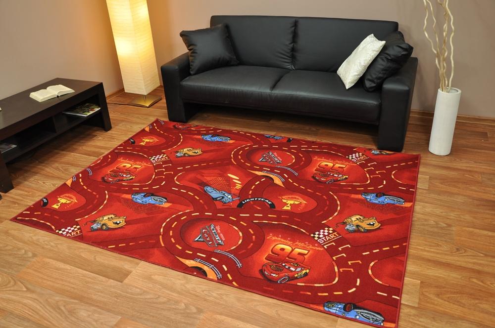 kinderteppich teppich spielteppich disney cars ebay. Black Bedroom Furniture Sets. Home Design Ideas