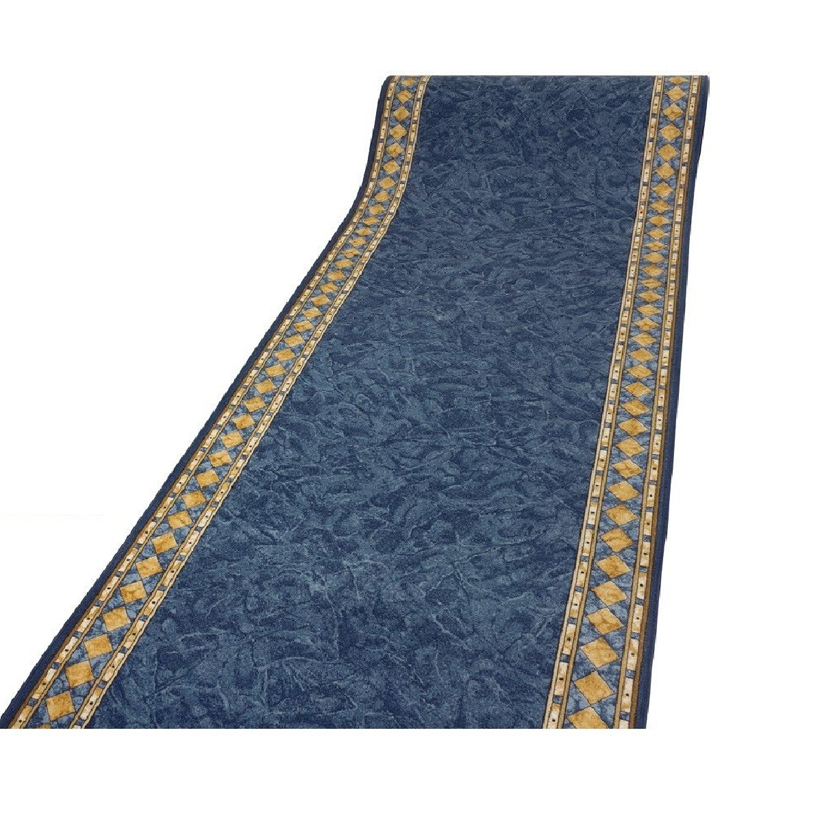 Details About Cheops Blue 64 Sizes Very Long Narrow Big Hallway Hall Runner Carpet Mat Rugs