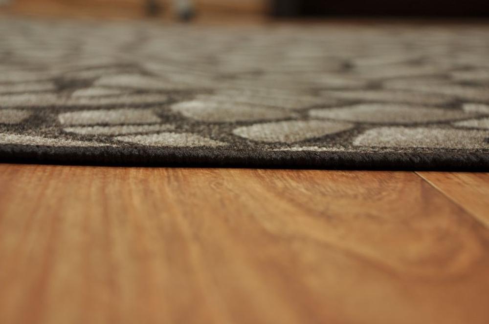 teppich rolling stones steine dunkelbraun 40 versch gr e ebay. Black Bedroom Furniture Sets. Home Design Ideas