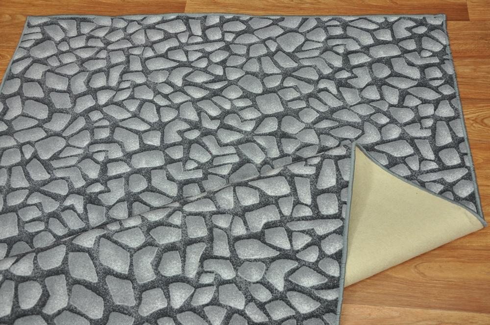 teppich rolling stones steine grau 90 versch gr e ebay. Black Bedroom Furniture Sets. Home Design Ideas